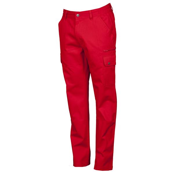 PAYPER Forest Pantalone da Uomo multistagione Lavoro con Tasche Laterali Anteriori Posteriori Chiusura Zip 100/% Cotone